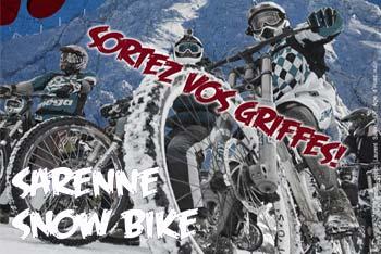 Sarenne Snow Bike 2013