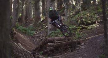 Pure, commited enduro MTB riding