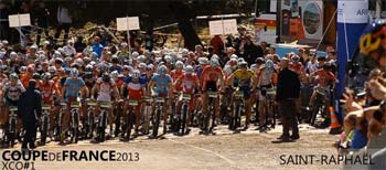 Vidéo Coupe de France Cadets / Juniors XCO - Saint-Raphaël