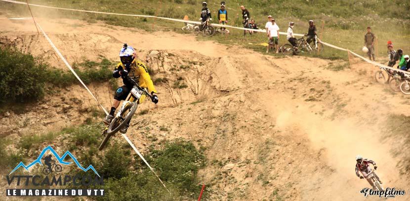 Mega jump aux Crankworx 2013