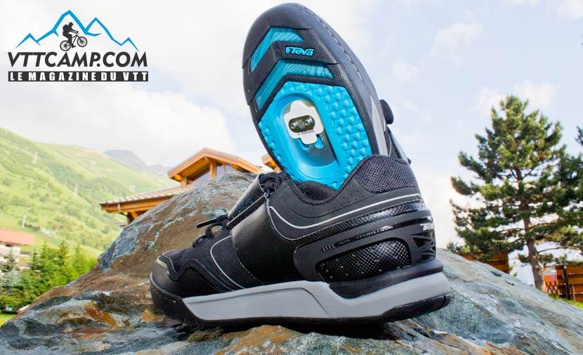 Paire de chaussures VTT haut de gamme Teva Pivot