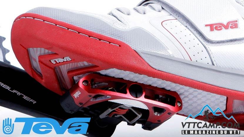 Chaussure VTT pour pédales automatiques