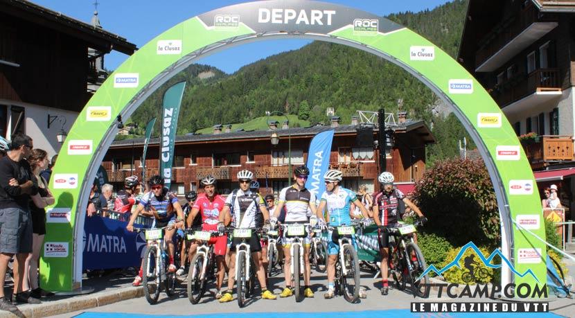 Ligne de départ du Roc des Alpes