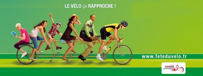 Bannière Fête du vélo 2013