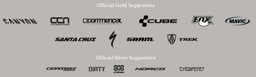 Sponsors officiels des Enduro World Series