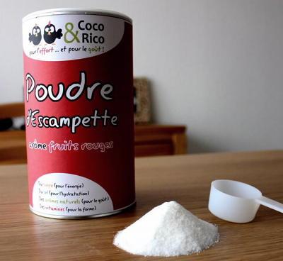 Poudre d'escampette, boisson énergétique by Coco & Rico